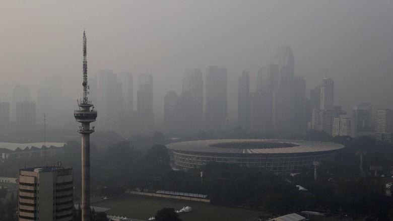 Jakarta Juara 1 Kota Paling Berpolusi di Dunia
