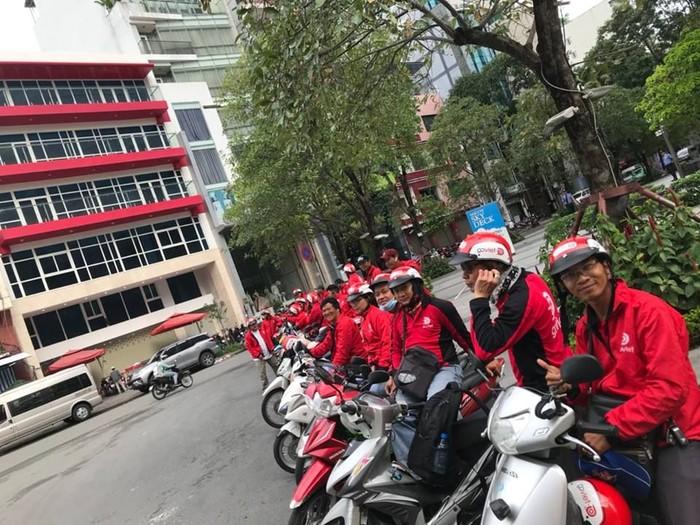 Driver Go-Viet di Vietnam. Foto: Facebook CLB Go-Viet HCM