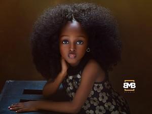 Photogenic, Bocah Nigeria Ini Dijuluki Gadis Tercantik di Dunia