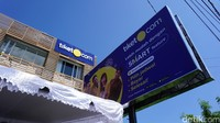 Inilah kantor representatif Tiket.com di Bali. Letaknya berada di Jalan Sunset Road, Kuta, Bali (Shinta/detikTravel)
