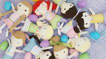 Foto: Boneka-boneka Lucu Jahitan Tangan Bocah 10 Tahun