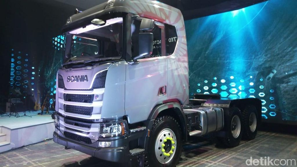 United Tractors Luncurkan Truk Scania Baru