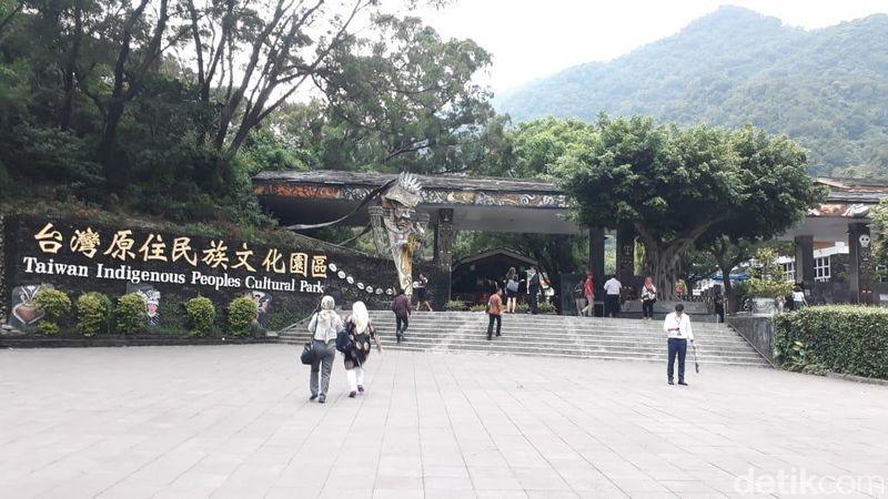 Anggapan kebanyakan traveler adalah Taiwan lekat dengan China. Tapi berbeda dengan Taiwan Indigenous Peoples Cutural Park atau Taman Budaya Adat Taiwan (Fadhly Fauzi Rachman/detikTravel)