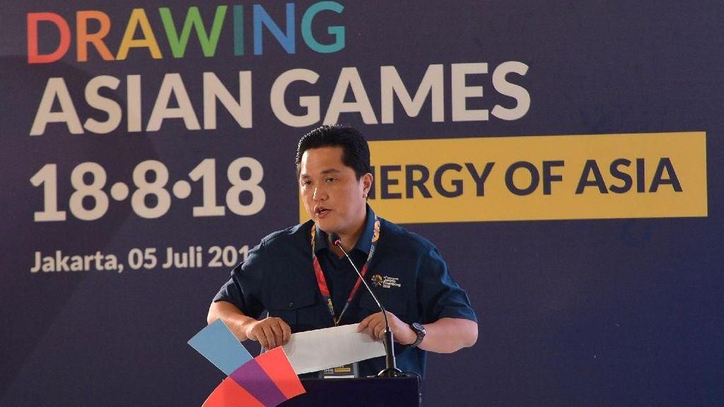 Erick Tohir Bandingkan Harga Tiket Asian Games dan Konser Syahrini