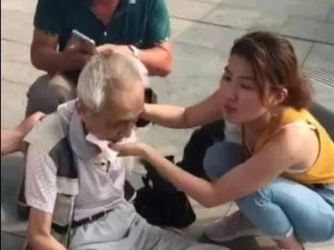 Selamatkan Nyawa Pria Tua di Stasiun, Mahasiswa Cantik Ini Viral