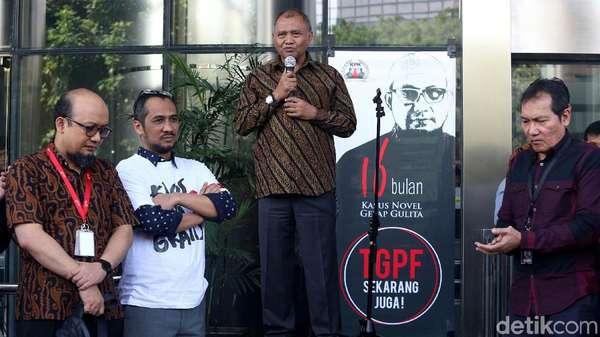 Dukungan Eks Pimpinan KPK untuk Novel yang Kembali Masuk Kerja