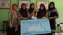 Manfaatkan Bunga Tapak Dara, Siswa SMA Ini Bikin Salep untuk Luka