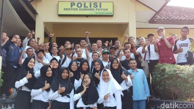 Diajak Keliling Sel Tahanan, Cara Polisi di Sukabumi Ajari Pelajar