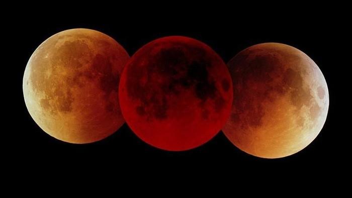 Ilustrasi gerhana bulan. Foto: BBC Magazine