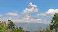 Gunung Agung Kembali Erupsi, Tinggi Abu Kolom 2 Km