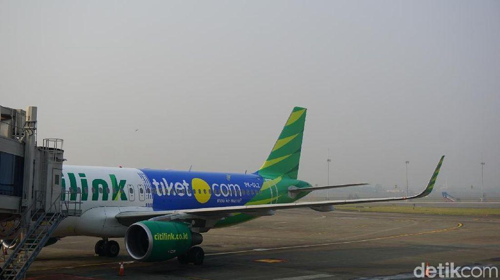 Tiket.com Gandeng Citilink, Muncul Pesawat Biru Hijau