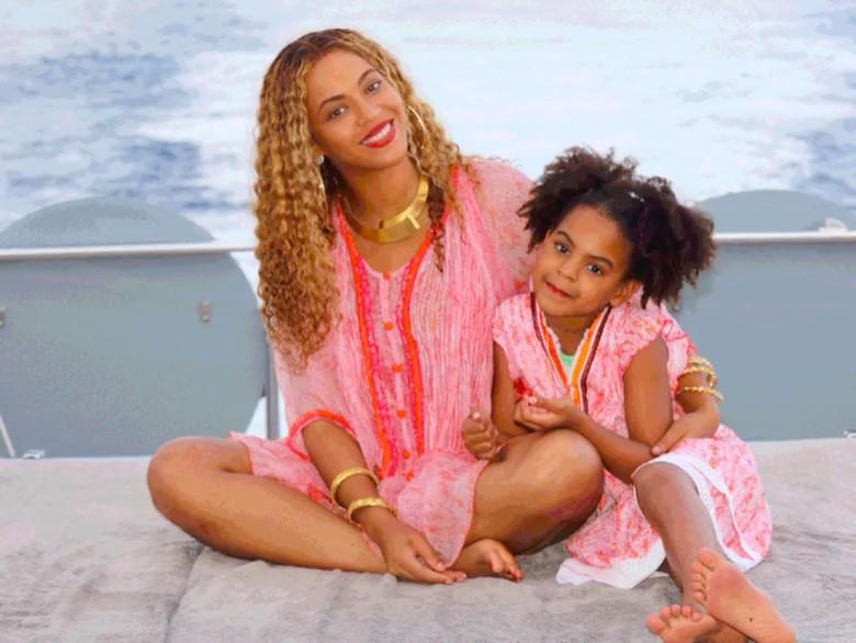 Beyonce dan Blue Ivy Carter Foto: Dok. Beyonce Knowles