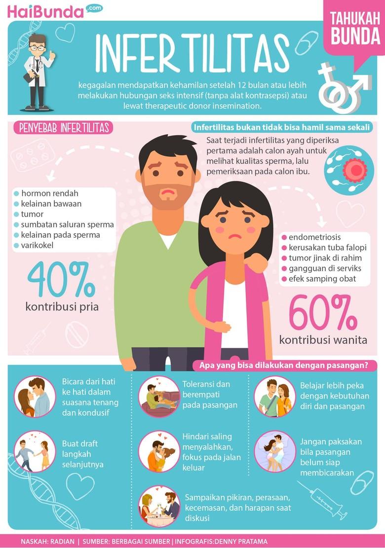 Hal-hal seputar infertilitas/ Foto: infografis