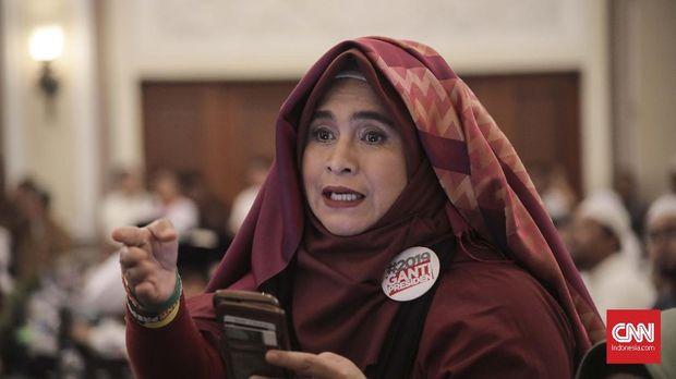 Polda Jateng Larang Jalan Sehat Neno Warisman dan Ahmad Dhani