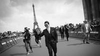 Tom Cruise menghadiri penayangan perdan film 'Mission Impossible' di Paris, Prancis. Foto: Instagram Tom Cruise