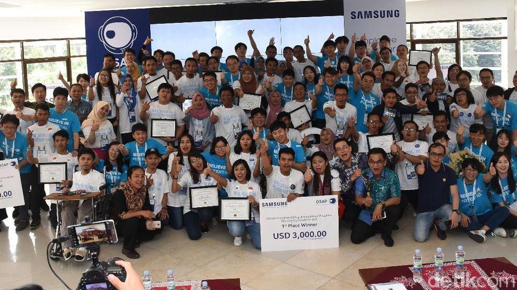 Samsung Pilih Tiga Juara Startup Indonesia