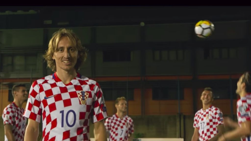 Gaya Pemain Sepakbola Kroasia Promosi Pariwisata Negaranya