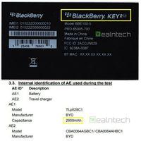 BlackBerry Key2 Lite Edition.