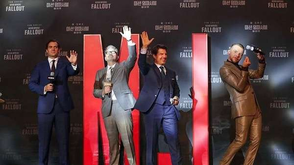 Gagahnya Tom Cruise dalam Premier Film Mission Impossible-Fallout