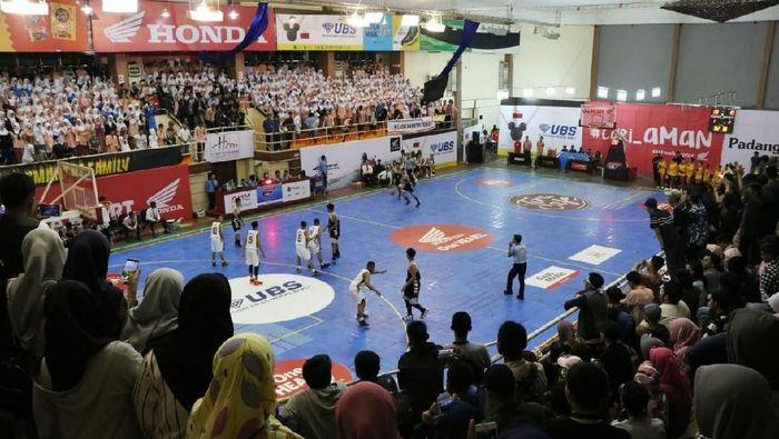 Pertandingan DBL 2018 di seri Padang (dok.DBL Indonesia)