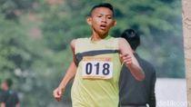 Juara Nasional Lari Siswa NU Ini Terpaksa Berlomba Tanpa Sepatu