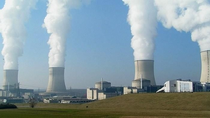 Ilustrasi pembangkit nuklir (Istimewa/rankred.com)