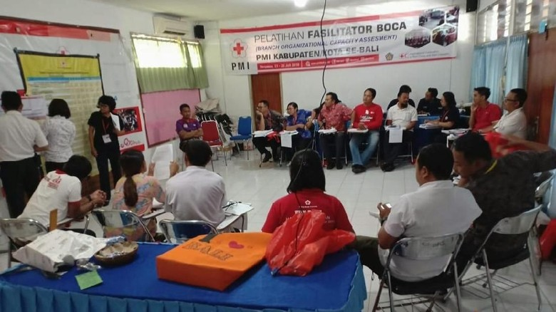 PMI Bali Siagakan Tim Medis untuk Bantu Tangani Gempa NTB