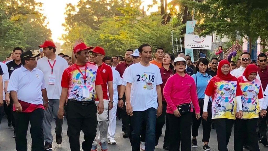 Di Makassar, Mentan Puji Jokowi Soal Angka Kemiskinan 1 Digit