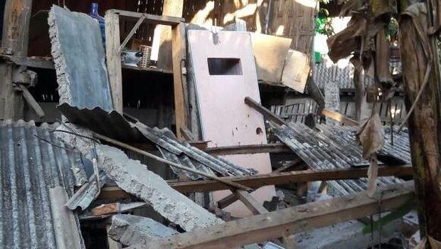 Gempa di NTB, Rumah Roboh dan Pendakian Rinjani Ditutup Sementara
