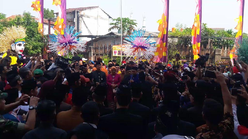 Doa Anies Jadi Presiden Bergema di Perayaan Lebaran Betawi