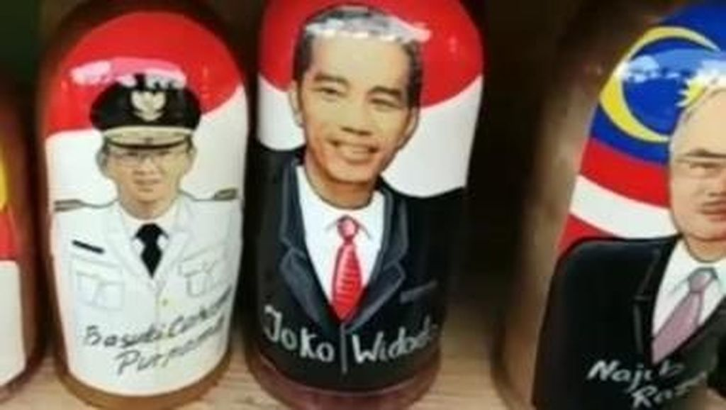 Ada Boneka Jokowi dan Ahok di Rusia