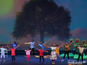 Memperingati ulang tahun ke-25 Yayasan Ongkologi Anak Indonesia (YOAI), digelar drama musikal.