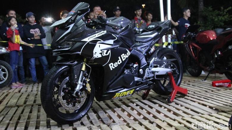 Modifikasi Honda CBR250RR  Foto: Dadan Kuswaraharja