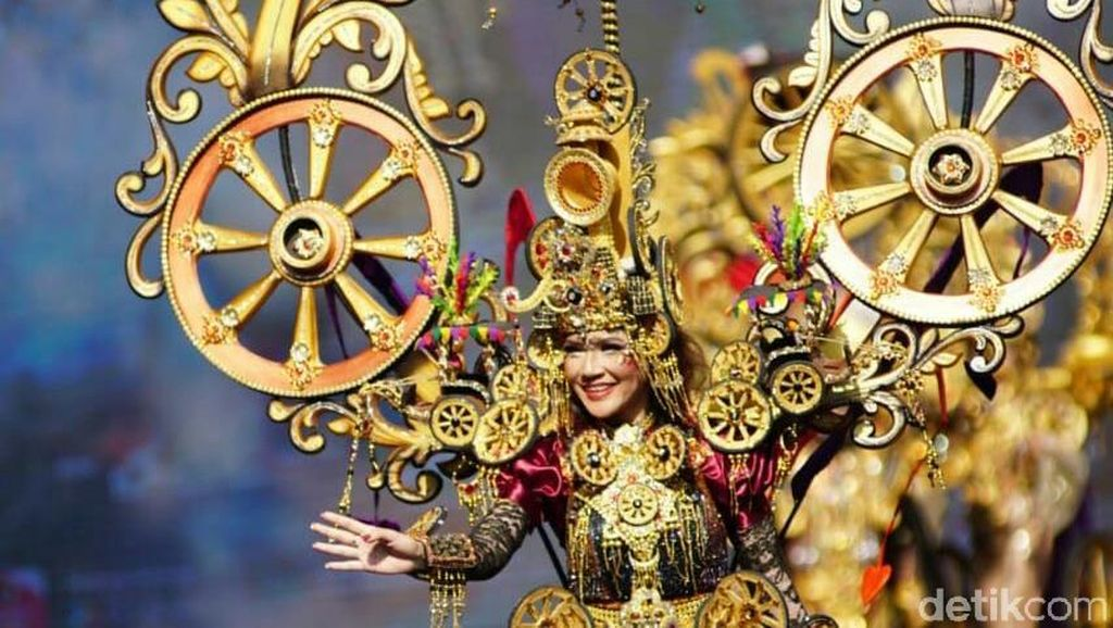 Potret Banyuwangi Ethno Carnival 2018, Keren dan Meriah!