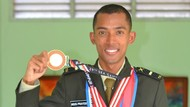 Agus Prayogo Andalan Indonesia di Lari Jarak Jauh Berpangkat Letda TNI AD