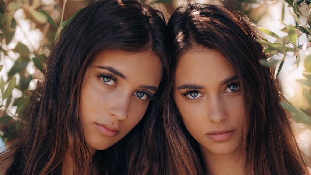 Bikin Mabuk Kepayang, Potret Memesona Kembar Cantik Bermata Indah