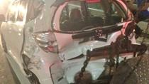 Tiga Mobil Remuk Akibat Kecelakaan di Tol Pejompongan Jakbar