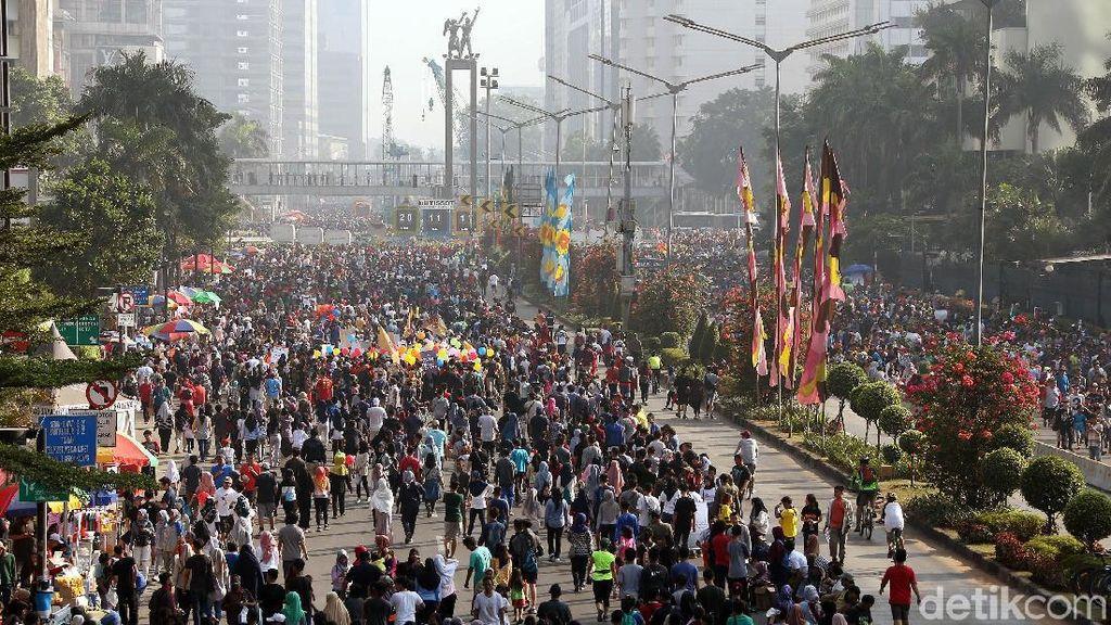 Car Free Day di Jakarta Ditiadakan Selama Asian Games 2018