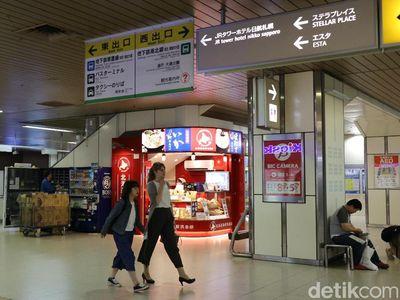 Keren, Ada Mal di Dalam Stasiun Jepang