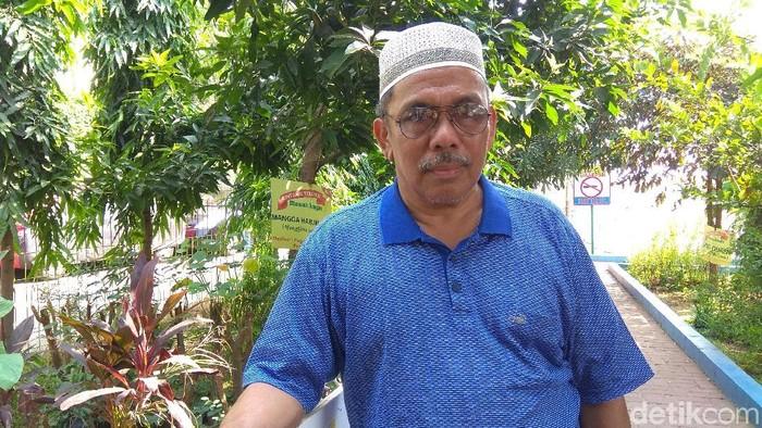 Haji Boy mengaku sudah kenal rokok sejak masih di bangku SMP (Foto: Aisyah/detikHealth)