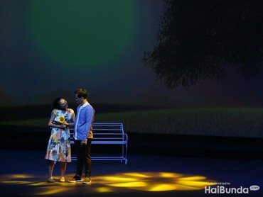 Drama musikal ini bertajuk Rasa, Caring from the Heart yang digelar di Ciputra ArtPreneur, Jakarta, Sabtu (28/7/2018).