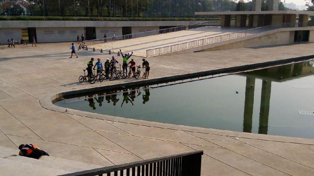 Lapangan Banteng, Alternatif Tempat Olahraga yang Lagi Ngehits