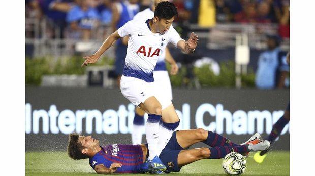 Son Heung-min untuk sementara absen dari Tottenham Hotspur untuk membela timnas Korea Selatan di Asian Games 2018. (