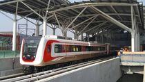 Video: LRT Jakarta Mulai Melintas Kelapa Gading, Begini Penampakannya!