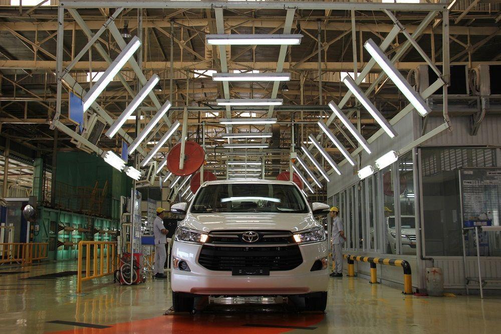 Toyota Kijang produksi ke-2 juta unit