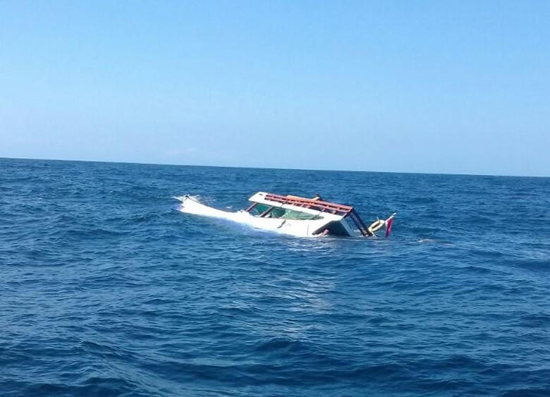 Kapal Terbalik di Perairan Bima NTB, 2 Orang Tewas dan 3 Hilang