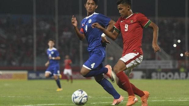 Sutan Zico menyumbang satu gol untuk kemenangan 3-0 Timnas Indonesia atas Timor Leste.