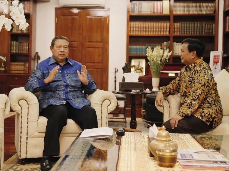 Prabowo-SBY Bertemu 4 Mata di Mega Kuningan
