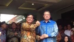 Baliho SBY Dirusak, Prabowo: PD Disakiti, Gerindra Merasa Disakiti Juga!