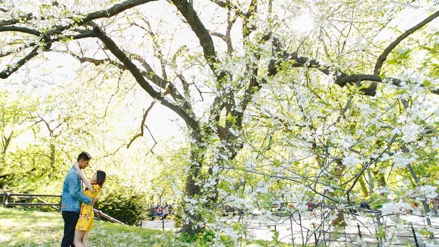 Jelang Nikah, Intip Prewedding Tasya Kamila - Randi di New York